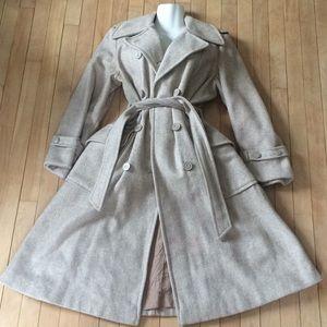 Maxi💝Peacoat Jacket Coat long Double Breasted Lg